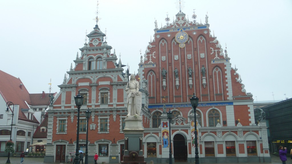 Das Rathaus in Riga / Lettland bei der Altstadt Tour